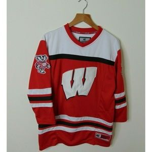Colosseum Youth Medium Wisconsin Badgers Jersey